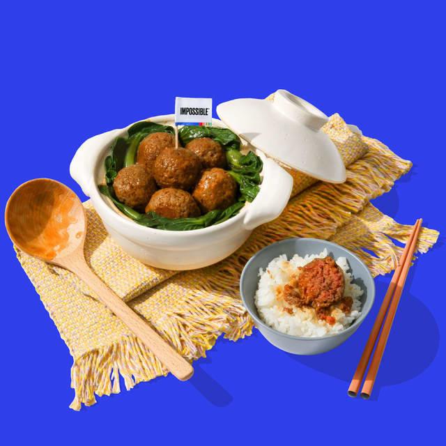 Recipe Image - Braised Lions Head Meatballs