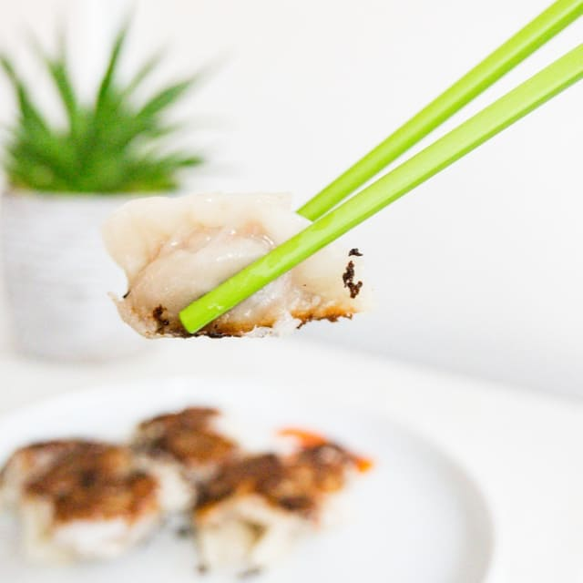 Impossible Happy Paradise Xinjiang Dumplings Recipe made with Impossible Burger
