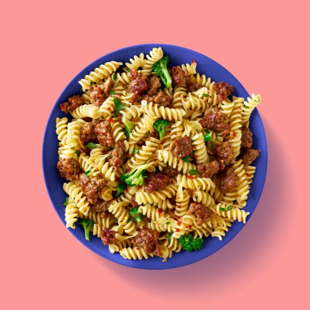Impossible Spicy Sausage Pasta Recipe