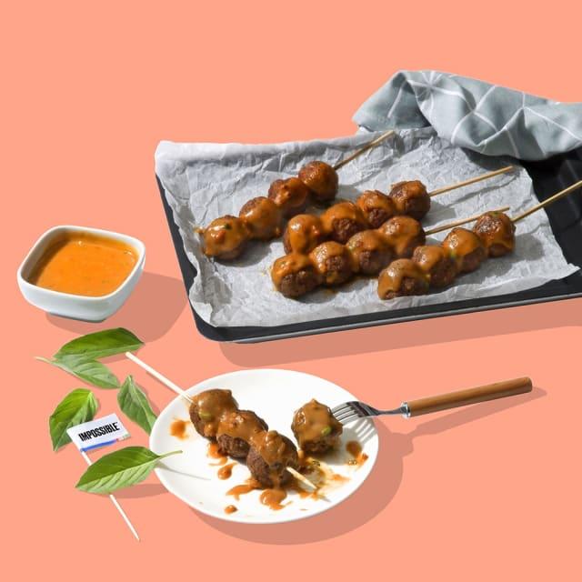 Recipe Image - Satay Meatballs