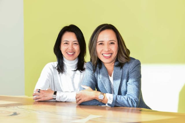 Little Green Cyclo Founders Monica Wong & Chef Quynh Nguyen