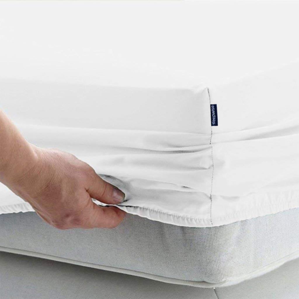 Soft Wonder-Edition Spannbettlaken 90-100 x 200 cm, Weiß