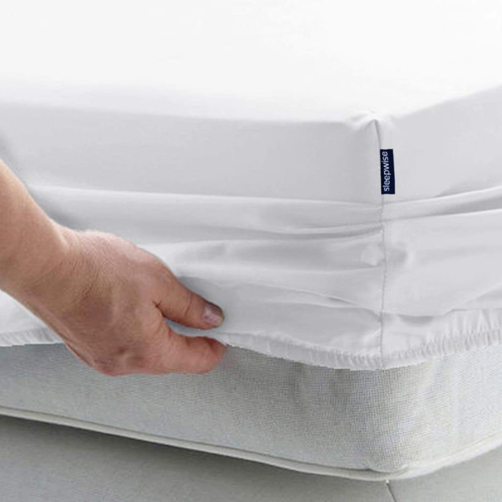 Soft Wonder-Edition Spannbettlaken, Grau / Weiß kariert