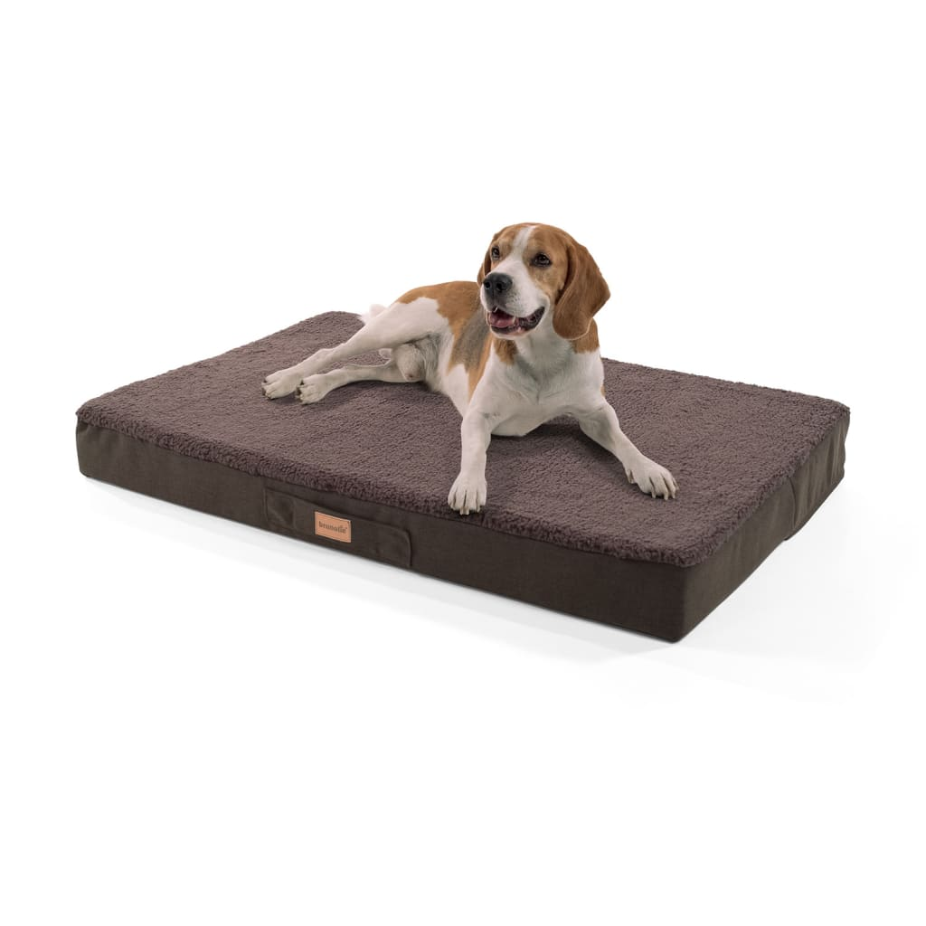 Balu Hundebett Hundekissen, Dunkelbraun, Größe: L