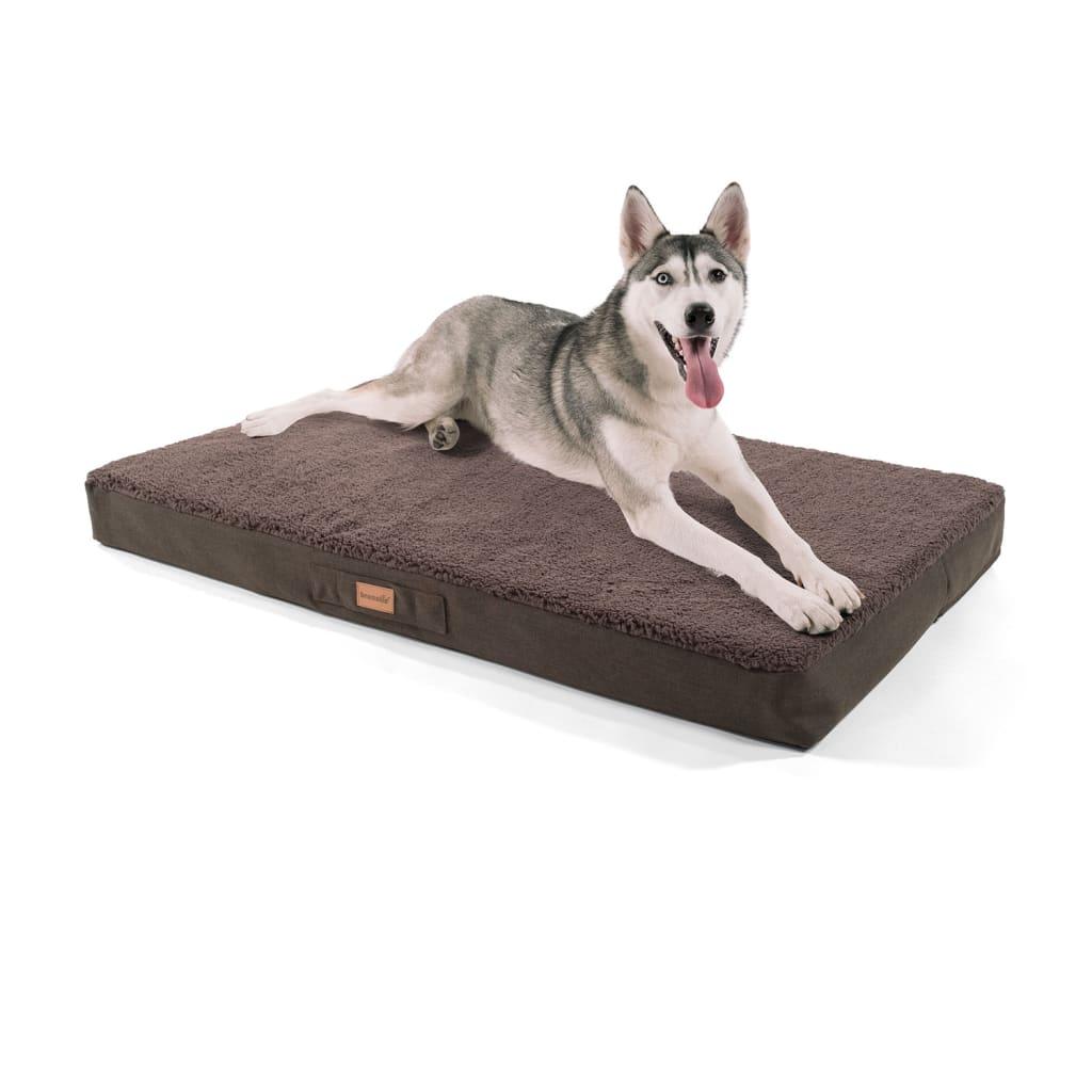 Balu Hundebett Hundekissen, Dunkelbraun, Größe: XL