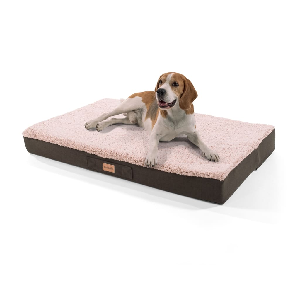 Balu Hundebett Hundekissen, Beige, Größe: L