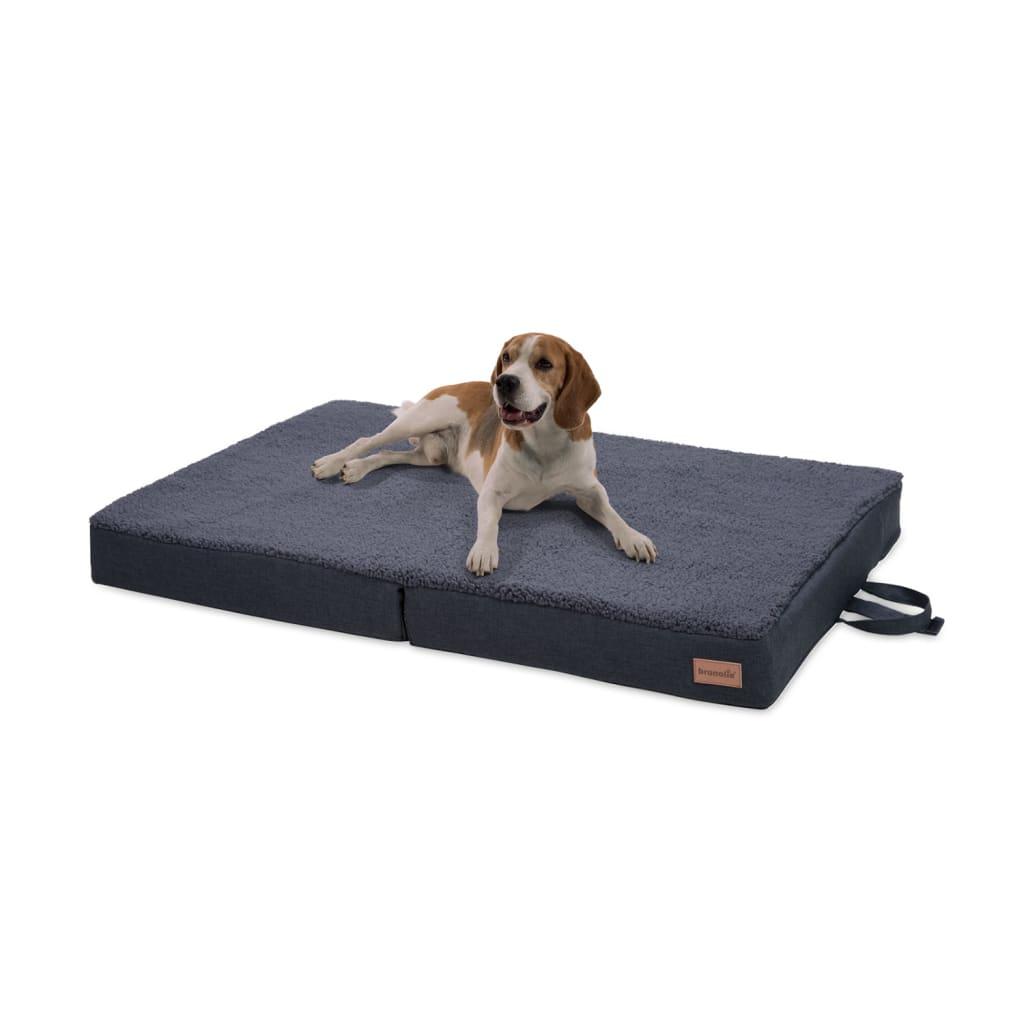 Paco Hundebett Hundematte, Dunkelgrau, Größe: L