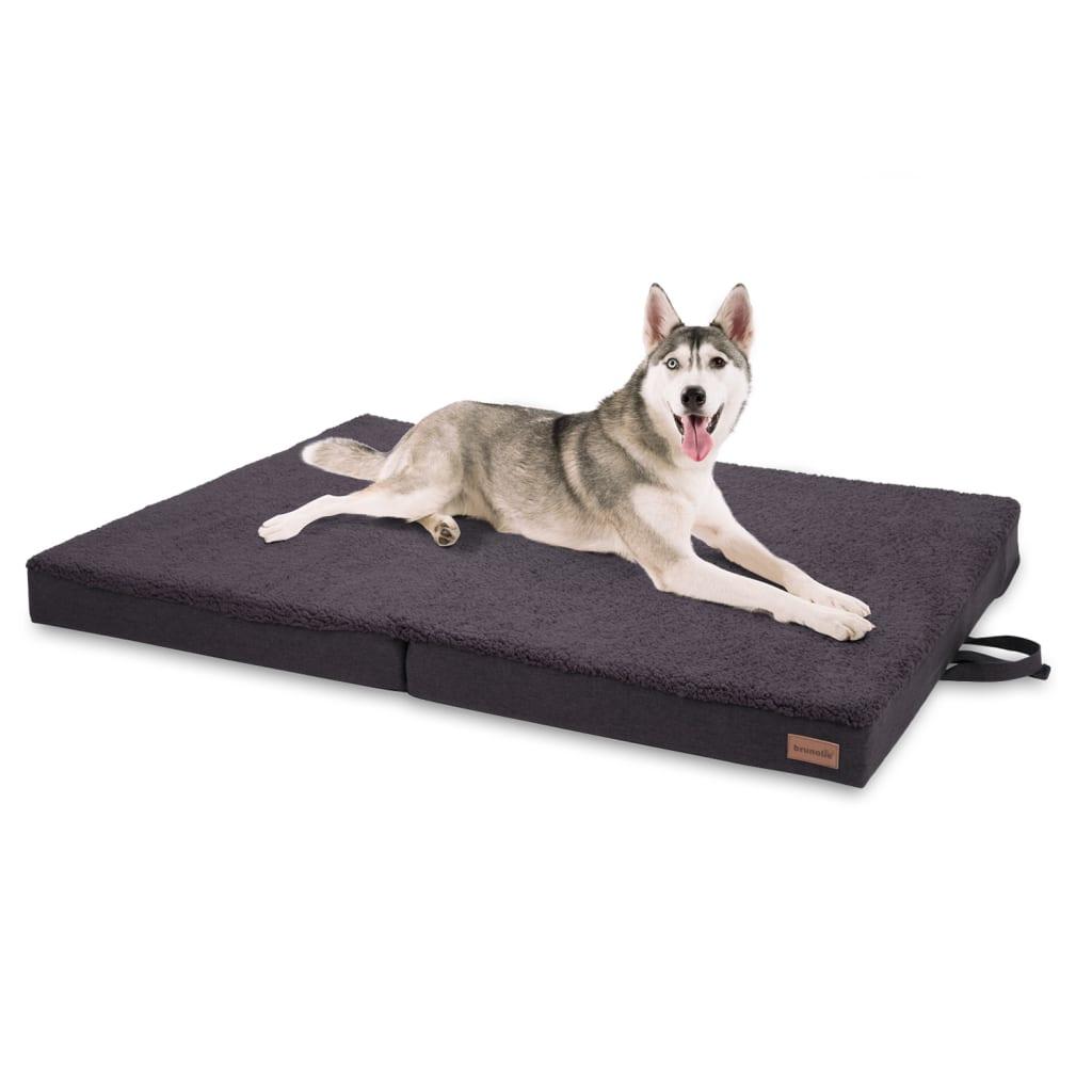 Paco Hundebett Hundematte, Dunkelgrau, Größe: XL