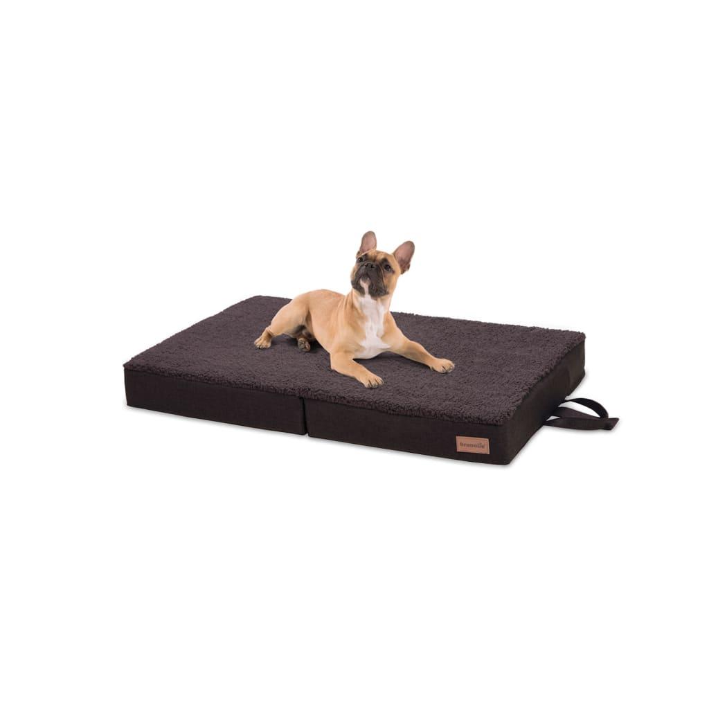 Paco Hundebett Hundematte, Dunkelbraun, Größe: M