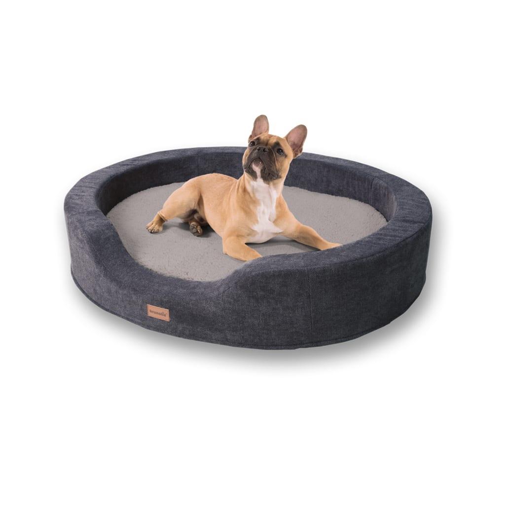 Lotte Hundekörbchen Hundekissen, Beige, Größe: L