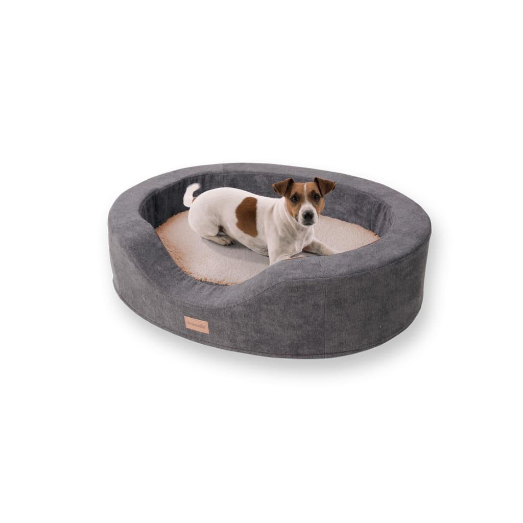 Lotte Hundekörbchen Hundekissen, Beige, Größe: M