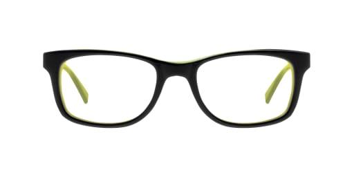 kinderbrille nike schwarz gelb