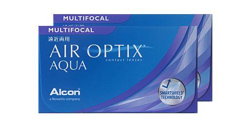 neues Design 60% Freigabe neueste Kollektion AIR OPTIX® Aqua Multifocal