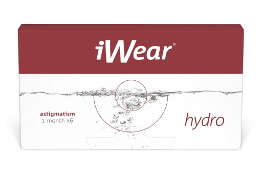 iWear® hydro astigmatism 6 Stück