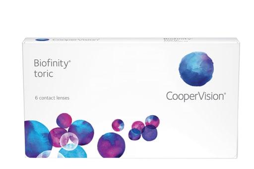 Biofinity® toric 6 Stück