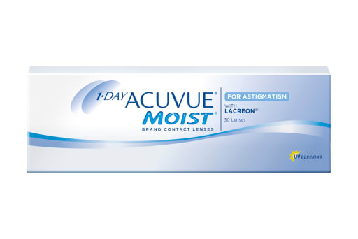 1-DAY ACUVUE® MOIST for ASTIGMATISM 30