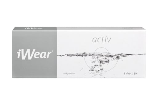 iWear® activ astigmatism 30 Stück