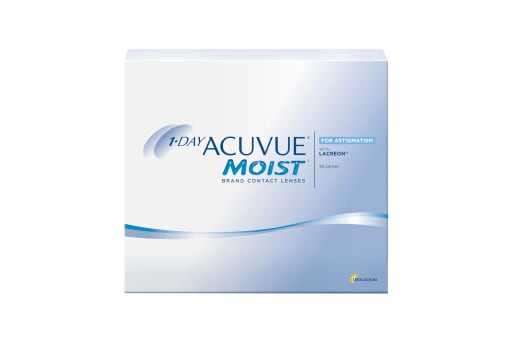1-DAY ACUVUE® MOIST for ASTIGMATISM 90