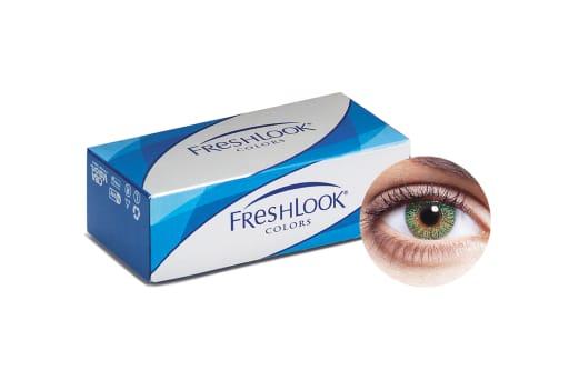 FreshLook® COLORS - Green 2 Stück