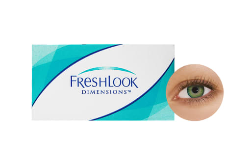 FreshLook® Dimensions - Sea Green 2