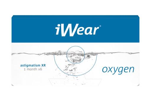 iWear® oxygen XR astigmatism 6 Stück