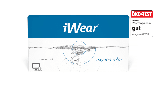 iWear® oxygen relax 6 Stück