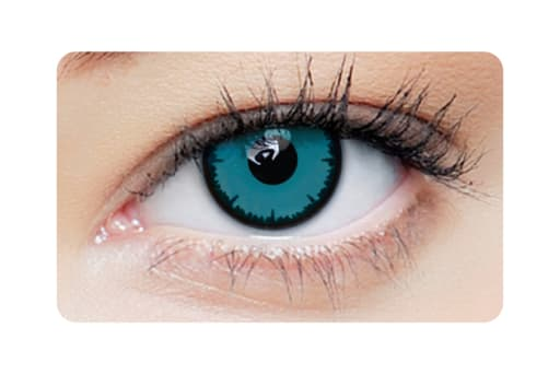 Farbige Kontaktlinsen Angelic Blue 2