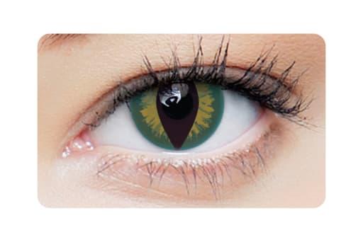 Farbige Kontaktlinsen Creepers 2 Stück