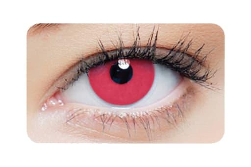 Farbige Kontaktlinsen 1-DAY Red Vampire