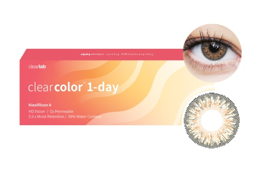 Clearcolor™ 1-Day - Hazel 10 Stück
