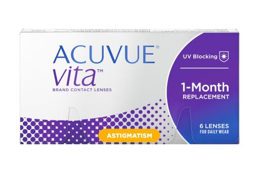 ACUVUE® VITA™ for ASTIGMATISM 6