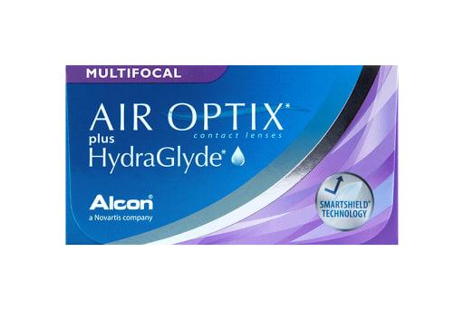 AIR OPTIX® plus HydraGlyde Multifocal 3
