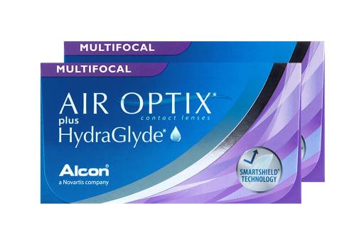 AIR OPTIX® plus HydraGlyde Multifocal 6