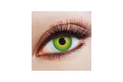 Farbige Kontaktlinsen Magic Green 2
