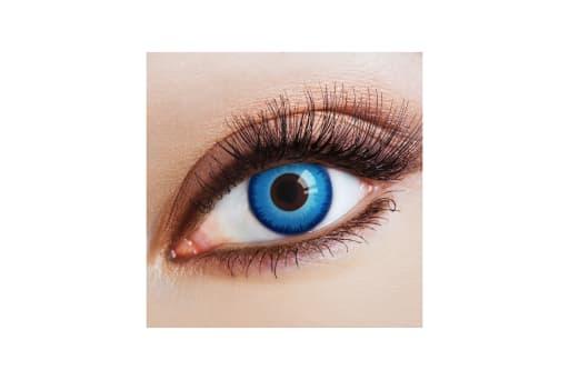 Farbige Kontaktlinsen Steelblue Eye 2