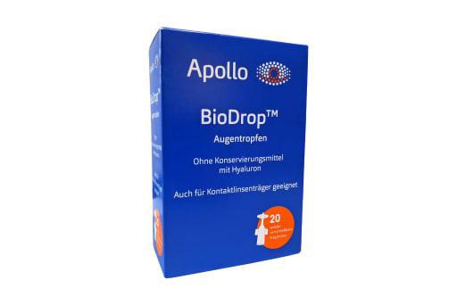 BioDrop Augentropfen 20 Stück