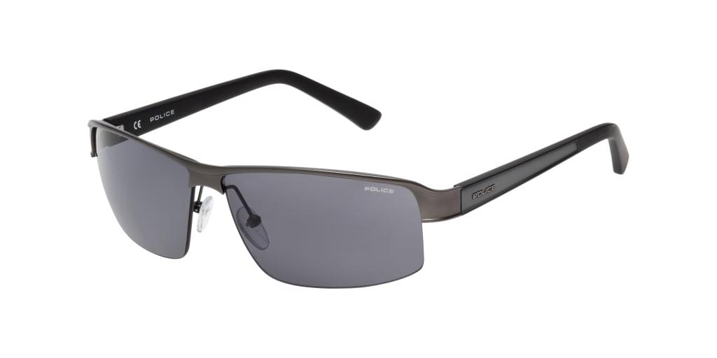 Sonnenbrillen Police Wager Schwarz Schwarz SPLN ZP Medium