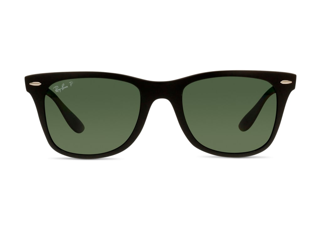 8053672067118-front-01-Ray-Ban-rb4195-wayfarer-liteforce-matte-black