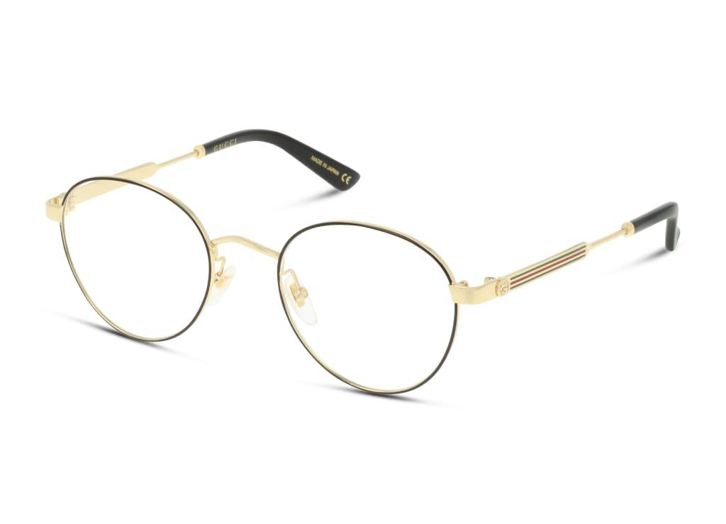 8056376156287-angle-brillenfassung-gucci-gg0290o-black-gold-transparent