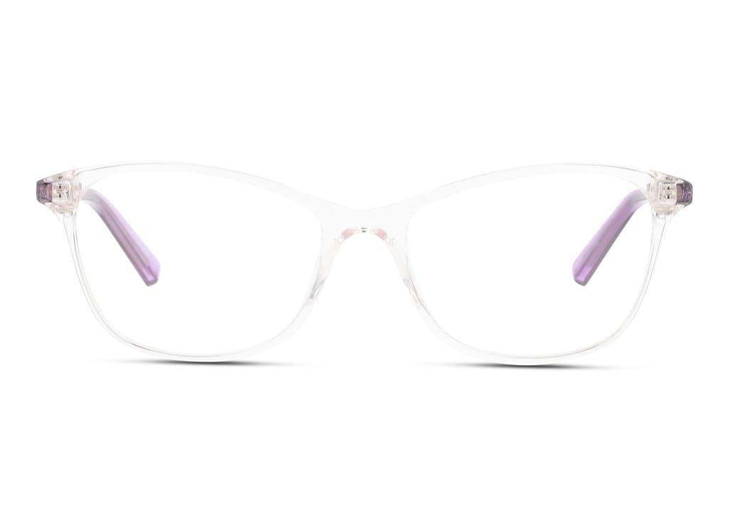 8056376254686-front-brillenfassung-puma-pj0033o-crystal-violet-transparent