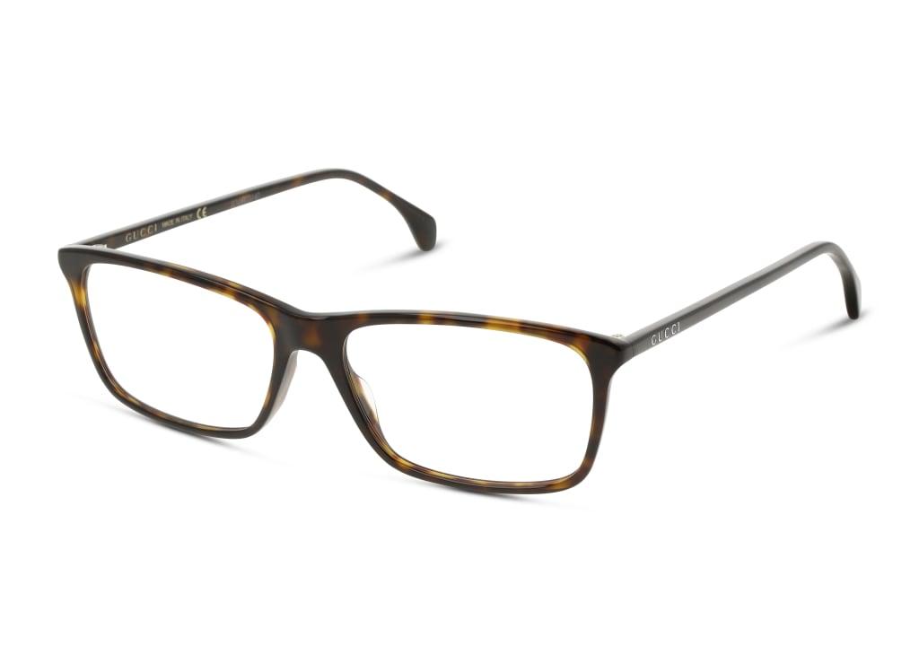 8056376286250-angle-brillenfassung-gucci-gg0553o-havana-havana-transparent