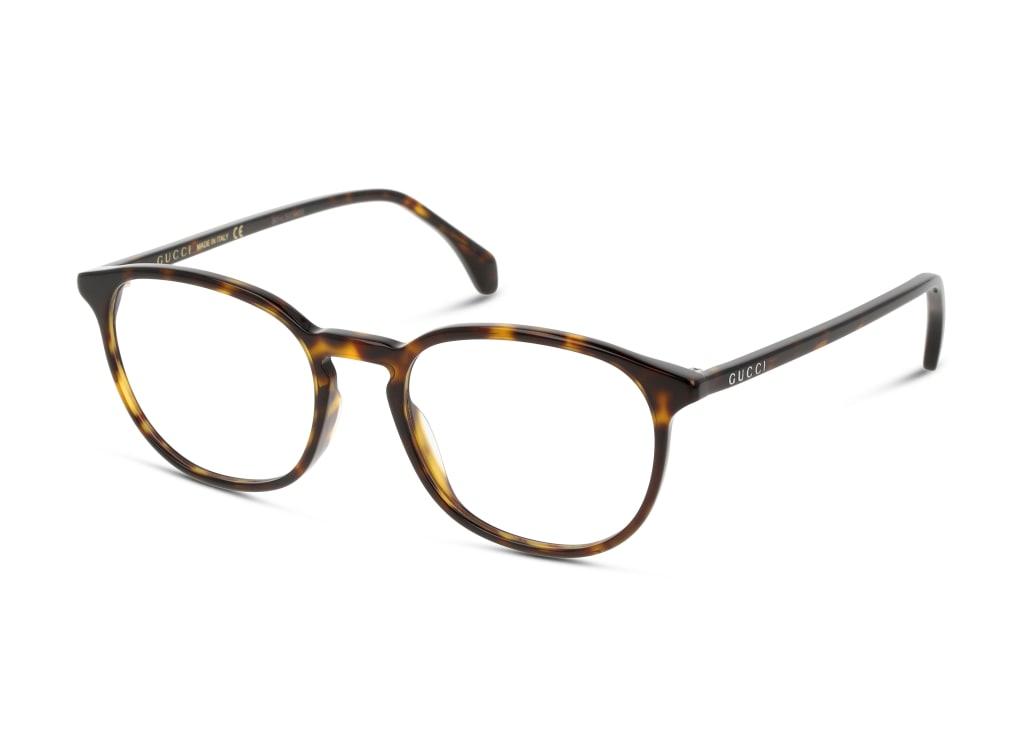 8056376286298-angle-brillenfassung-gucci-gg0551o-havana-havana-transparent