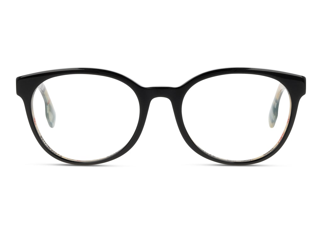 8056597121408-front-brillenfassung-burberry-0be2315-top-black-on-vintage-check