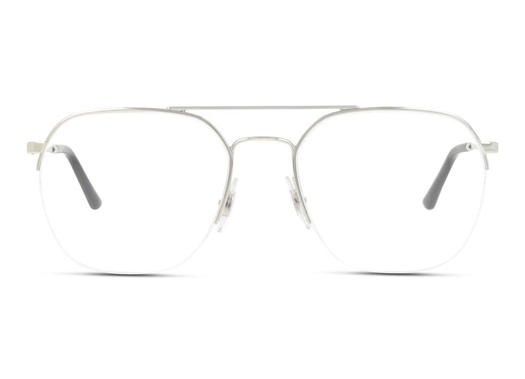 8056597124140-front-brillenfassung-ray-ban-0rx6444-silver