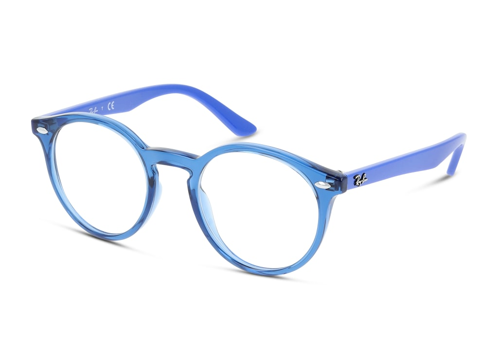 8056597126335-angle-brillenfassung-ray-ban-0ry1594-trasparent-blue