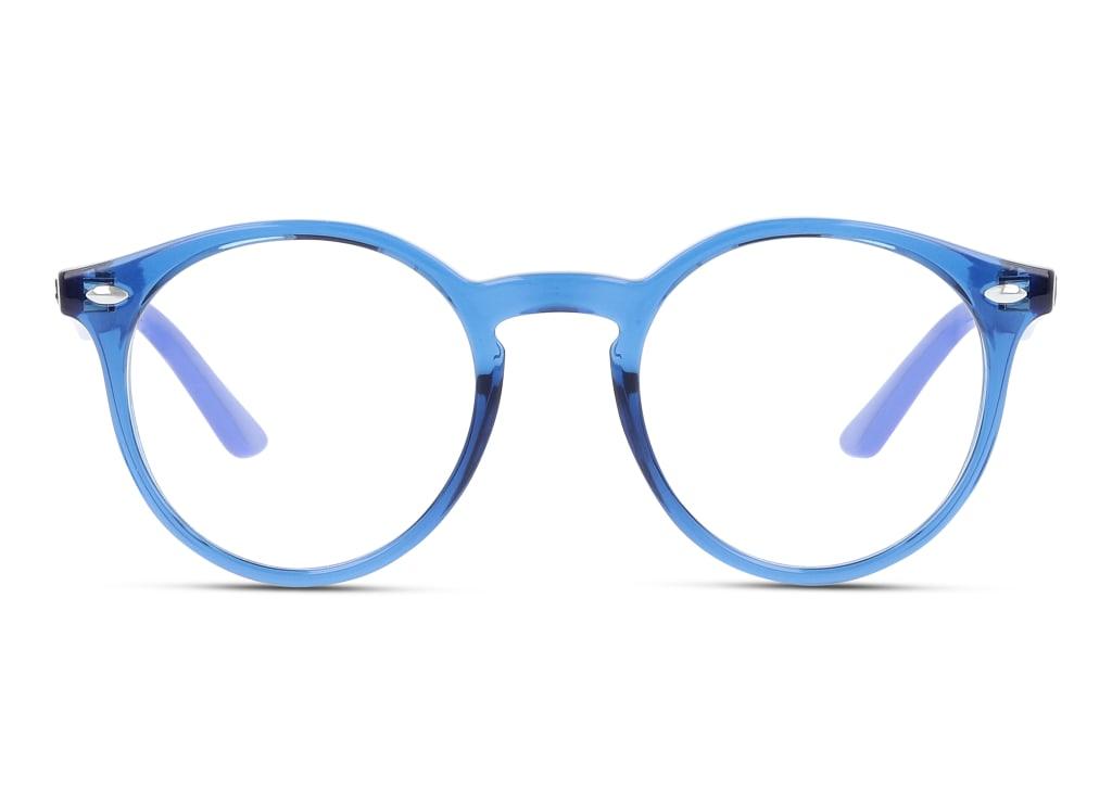 8056597126335-front-brillenfassung-ray-ban-0ry1594-trasparent-blue