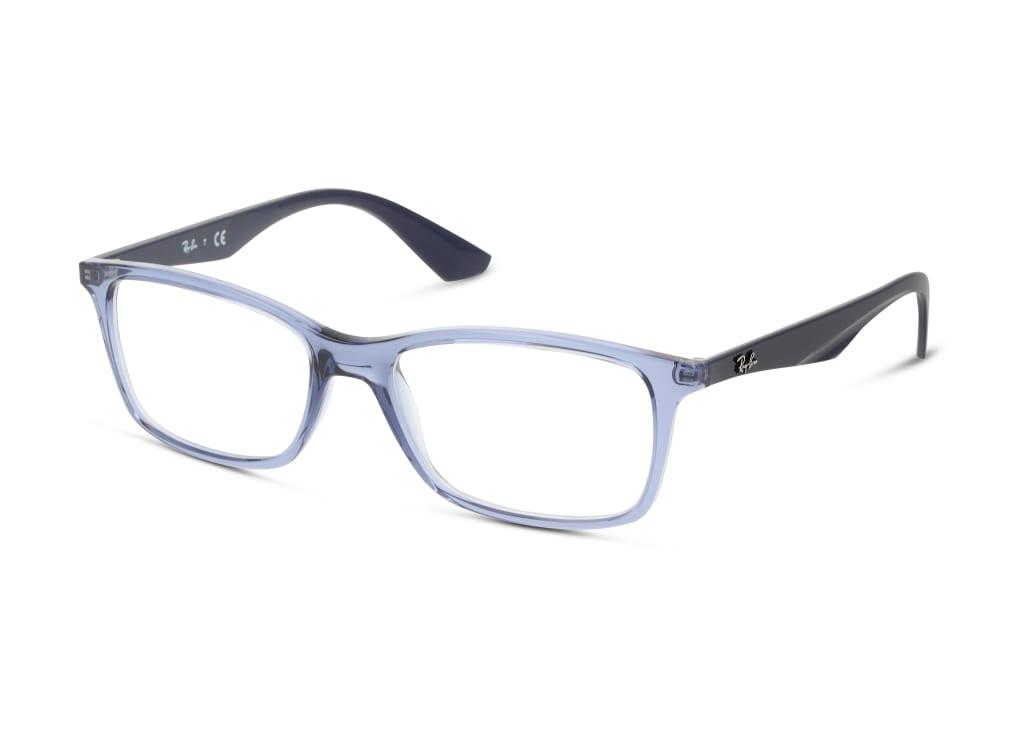 8056597188227-angle-Ray-Ban-Brillenfassung-0rx7047-transparent-violet
