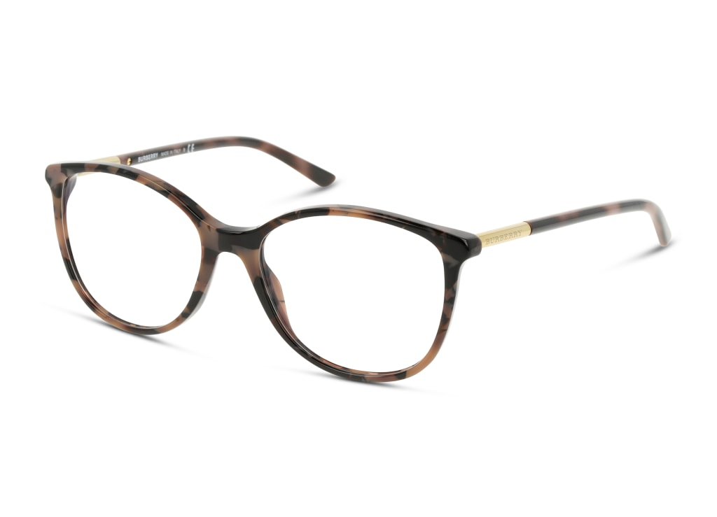 8056597204071-angle-brillenfassung-burberry-0be2128-spotted-brown-havana