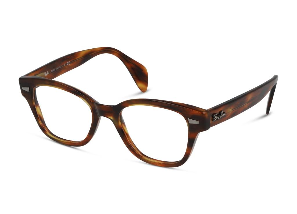 8056597245548-angle-brillenfassung-ray-ban-0rx0880-striped-havana