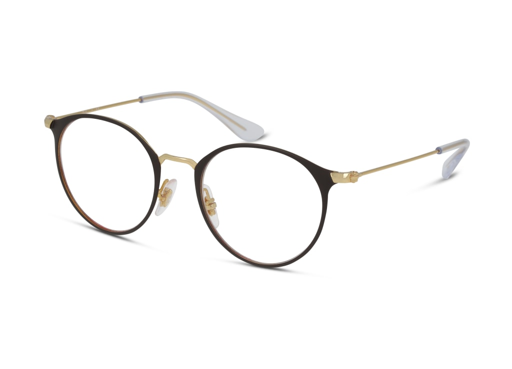 8056597266055-angle-Ray-Ban-Brillenfassung-0ry1053-gold-on-top-matte-brown_1